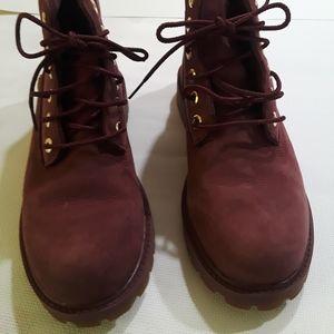 Timberland Girls size 2 short Boots